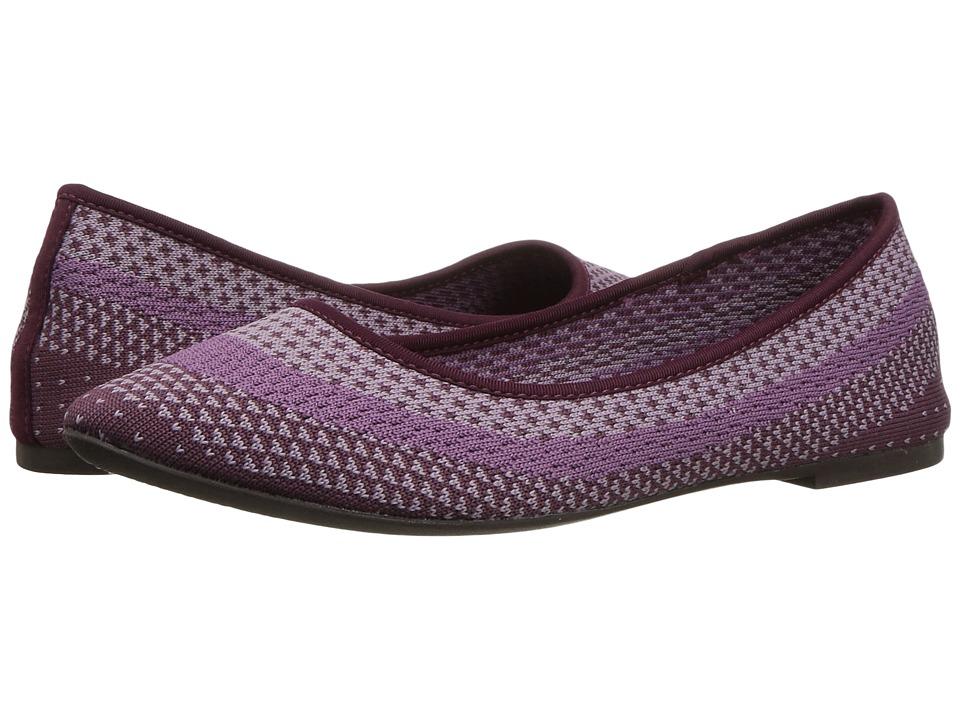 Skechers Cleo - Engineered Knit Skimmer (Purple) Women's ...