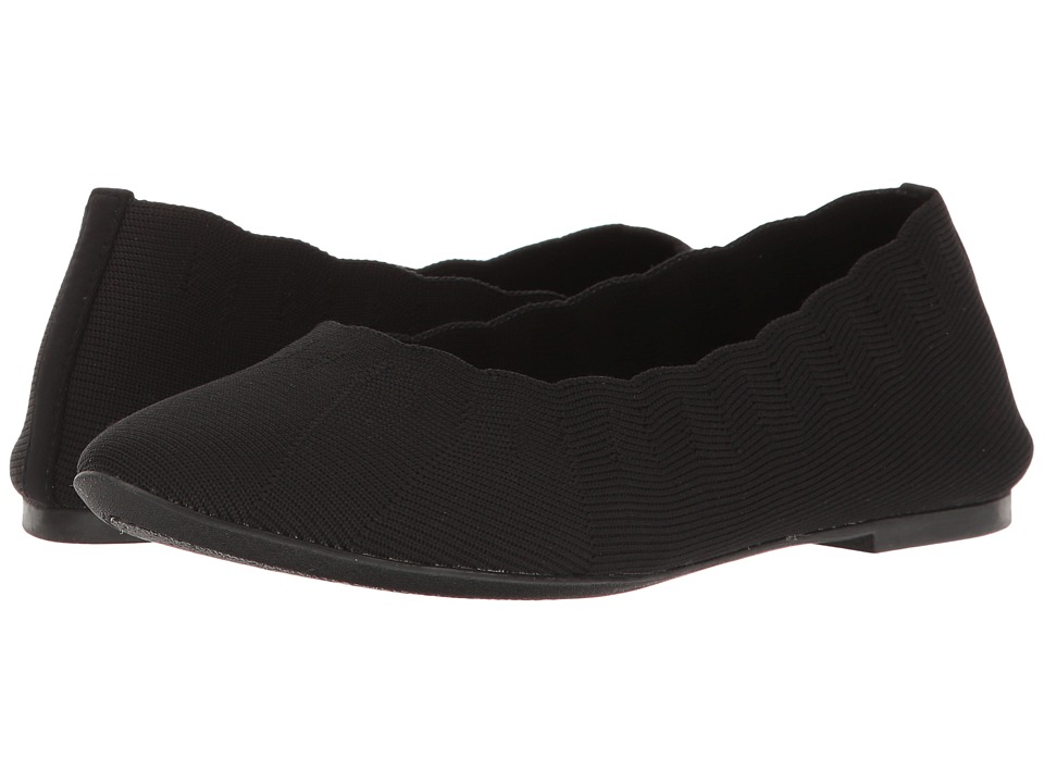 Skechers Cleo Bewitched - Engineered Knit Skimmer (Black)...