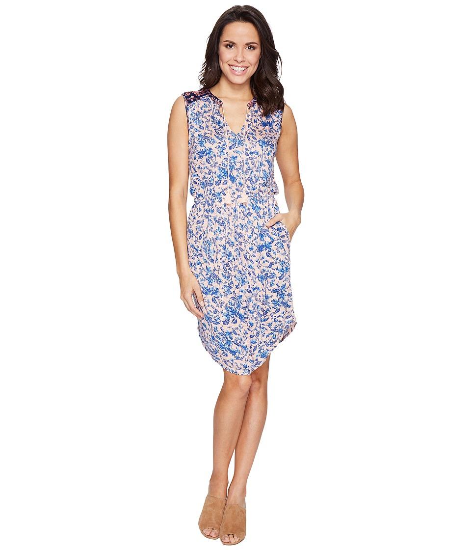 Lucky Brand Midi Waisted Knit Dress (Multi) Women