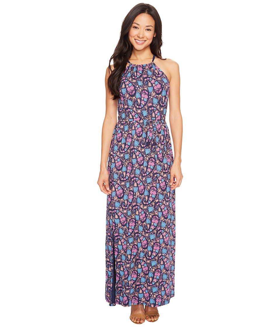Lucky Brand Party Paisley Maxi Dress (Multi) Women