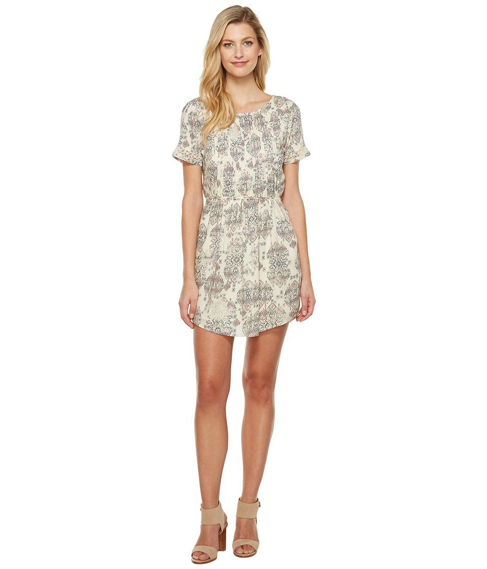 Lucky Brand Jojo Dress (Natural Multi) Women