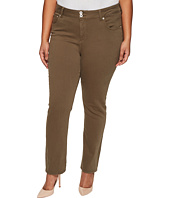 Lucky Brand - Plus Size Emma Straight Jeans in Desert Ivy