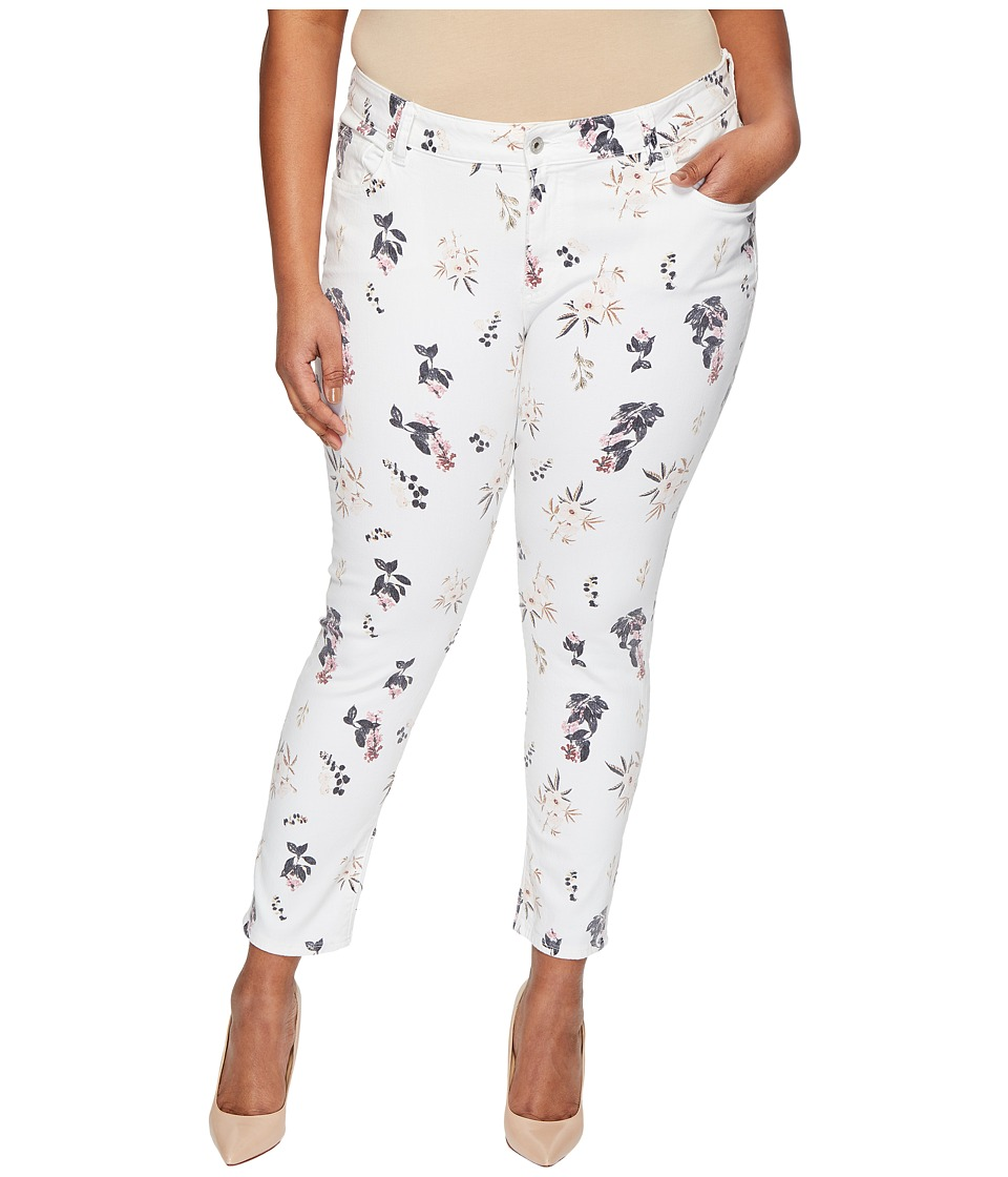 Lucky Brand Plus Size Ginger Skinny Jeans in Botanical Toss (Botanical Toss) Women