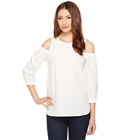 Calvin Klein - Cold Shoulder 3/4 Sleeve Top