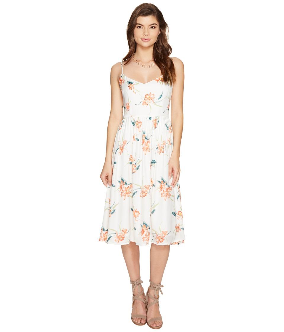 BB Dakota - Lila Printed Midi Dress