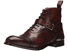 Alexander McQueen Luke Brogue Boot w/ Strap Buckle