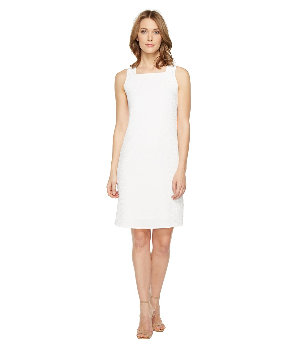 NIC+ZOE West Coast Dress (Paper White) Women