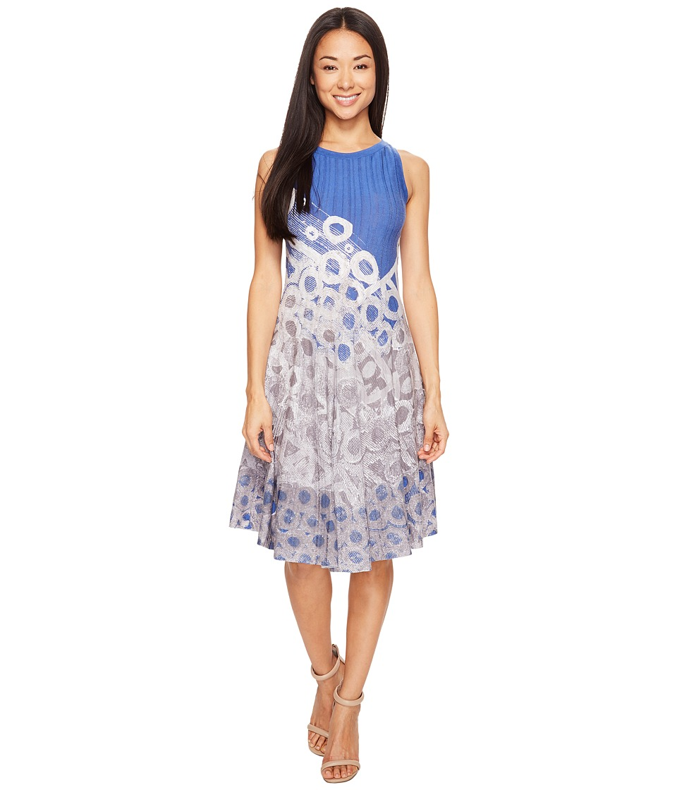 NIC+ZOE Rain Drops Twirl Dress (Multi) Women