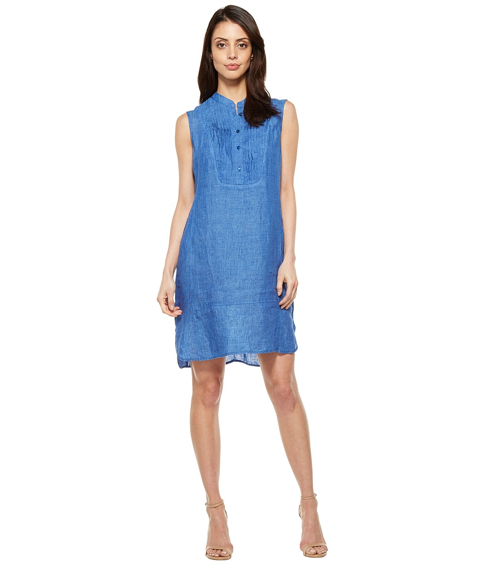 NIC+ZOE Drifty Linen Tunic Dress (Poolside) Women