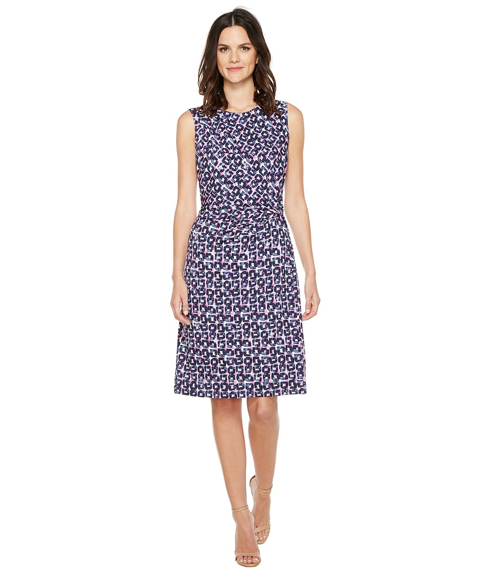 NIC+ZOE Groundwork Twist Dress (Multi) Women
