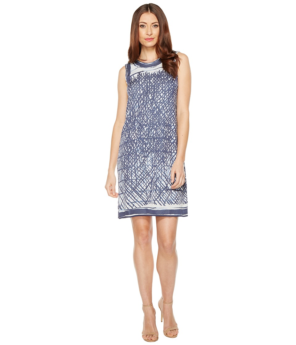 NIC+ZOE Blue Crush Dress (Multi) Women