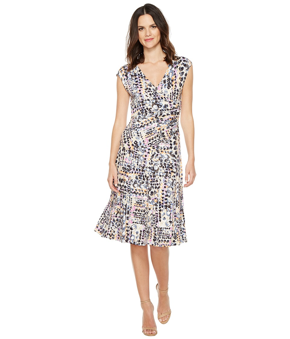 NIC+ZOE Bright Lights Wrap Dress (Multi) Women
