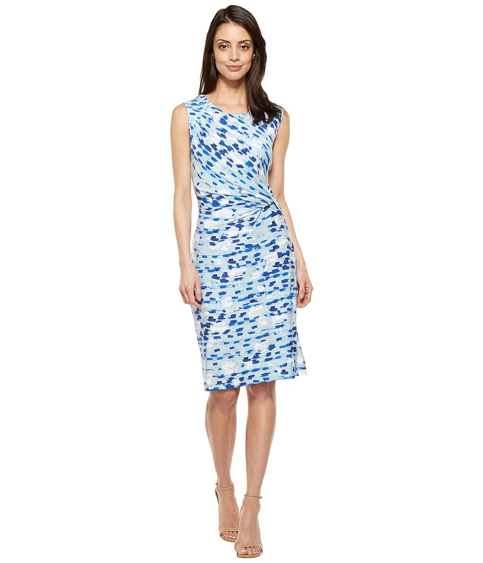 NIC+ZOE Water Lane Twist Dress (Multi) Women