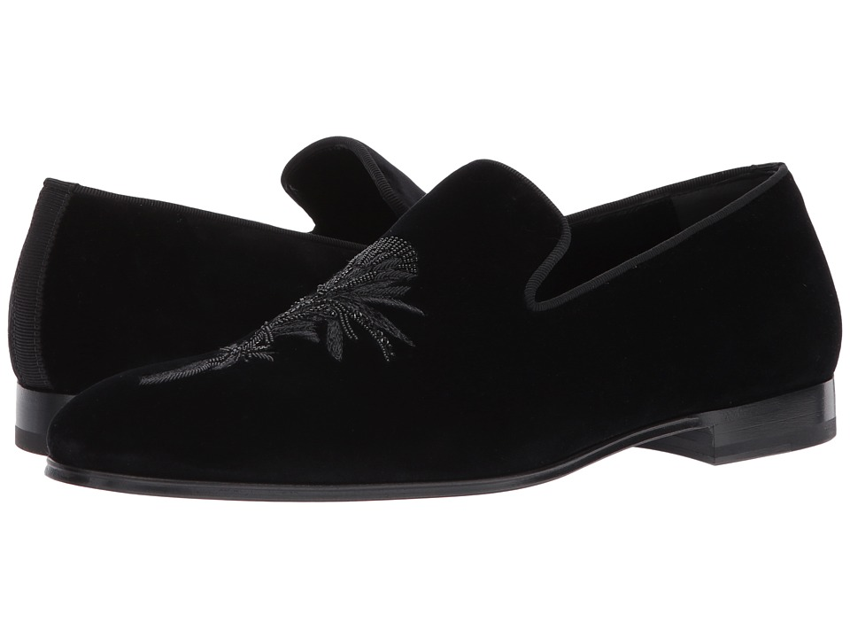 Alexander McQueen - Rose Thistle Embroidery Loafer