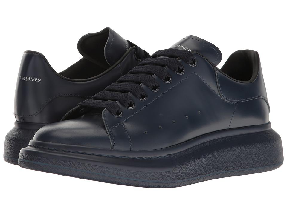 Alexander McQueen Tonal Sneaker (Navy) Men