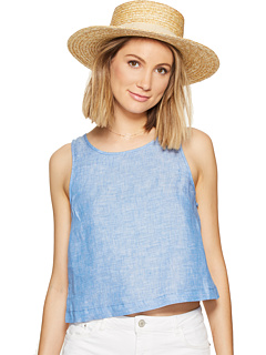 BB Dakota - Rylan Linen Chambray Top