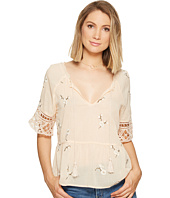 BB Dakota - Alecia Embroidered Top