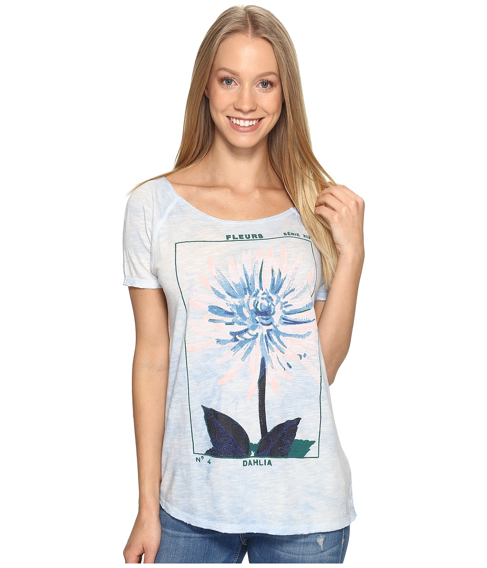 Lucky Brand Dahlia Tee (Skyway) Women