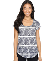 Lucky Brand - Geo Striped Tee