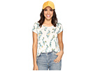 Lucky Brand - Floral Vines Tee