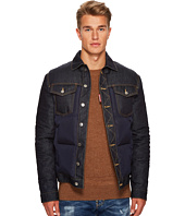 DSQUARED2 - Denim/Nylon Bomber