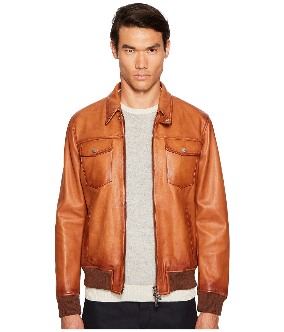 DSQUARED2 - Leather Jean Jacket