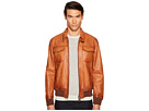 DSQUARED2 Leather Jean Jacket