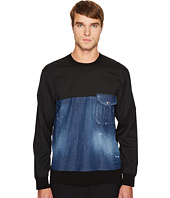 DSQUARED2 - Stretch Denim Pullover Shirt