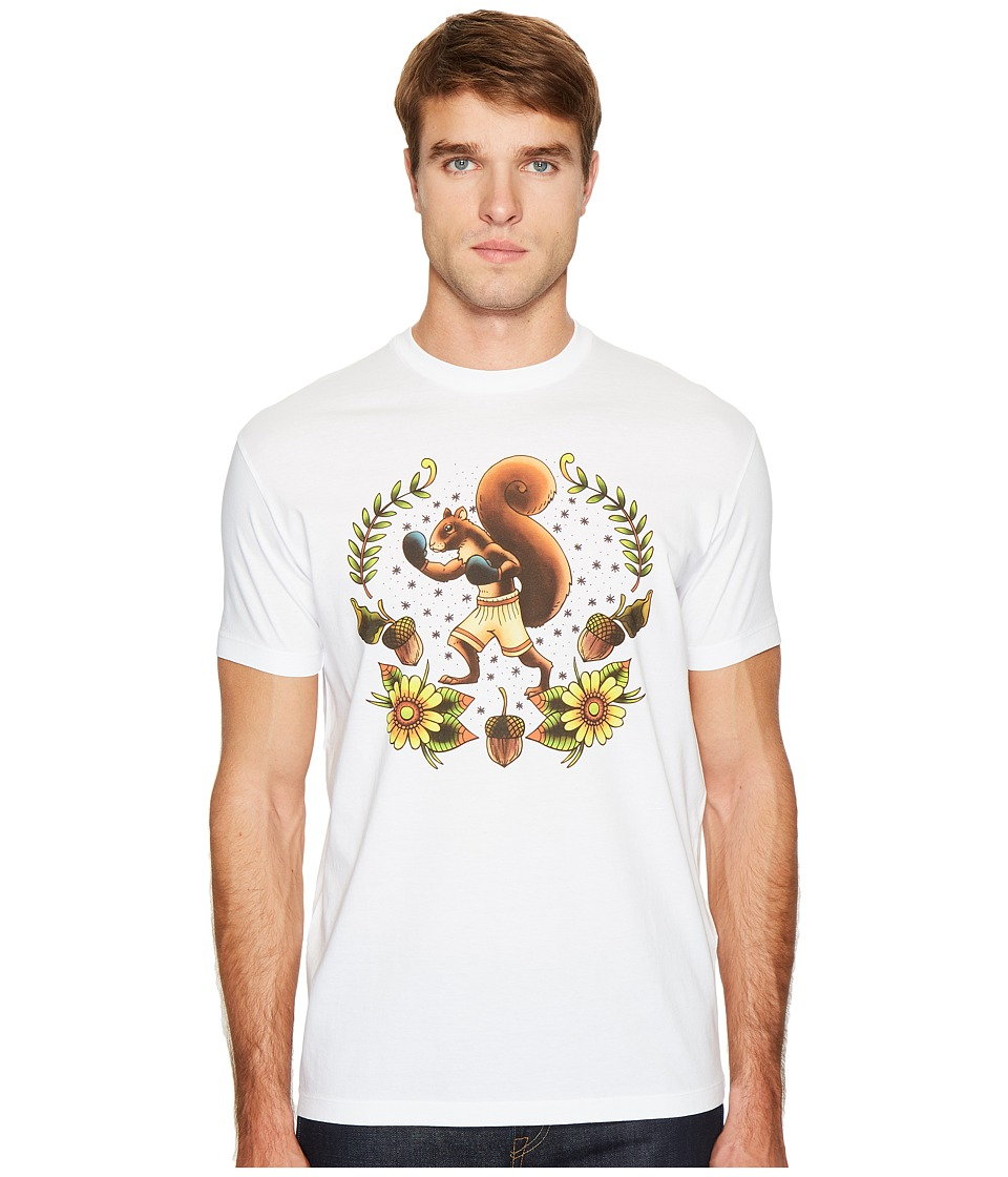 DSQUARED2 Squirrel T-Shirt (White) Men