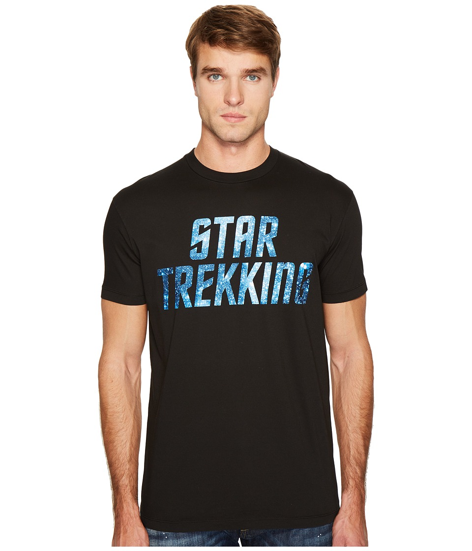 DSQUARED2 Star Trekking T-Shirt (Black) Men