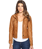 Lucky Brand - Patch Pocket Leather Jacket