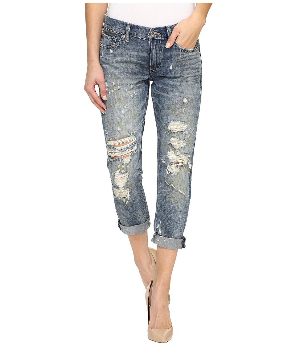 Lucky Brand Sienna Slim Boyfriend Jeans in Tamed (Tamed) Women