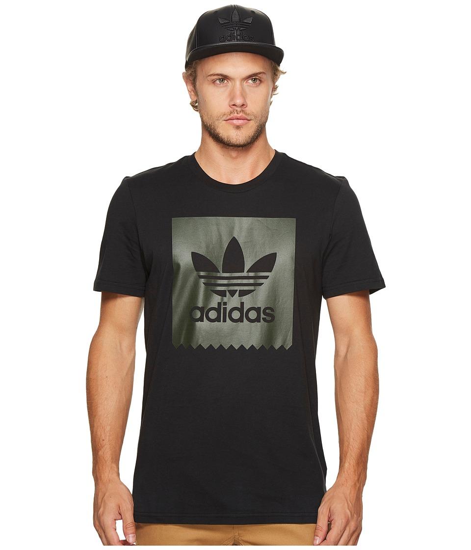 adidas Skateboarding Blackbird Military Tee (Black) Men
