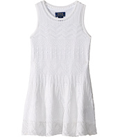 Polo Ralph Lauren Kids - Combed Cotton Pointelle Sweater Dress (Toddler)