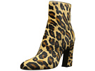 Just Cavalli Cheetah Horse Leather Ankle Boot