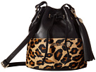 Just Cavalli - Cheetah Bucket Bag with Tassel