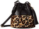 Cheetah Bucket Bag with Tassel