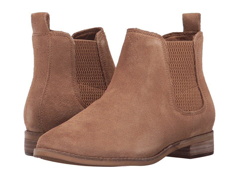 TOMS Ella (Toffee Suede) Women's Pull-on Boots