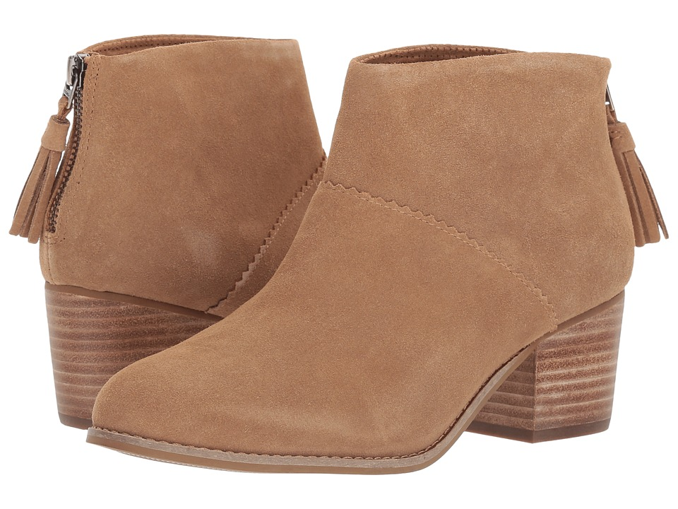 TOMS Leila Bootie (Toffee Suede)