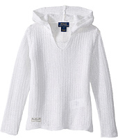 Polo Ralph Lauren Kids - Cotton Blend Hooded Pullover Sweater (Little Kids)