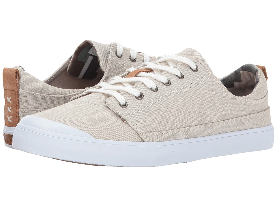 Reef - Walled Low (Silver/Grey) Womens Lace up casual Shoes