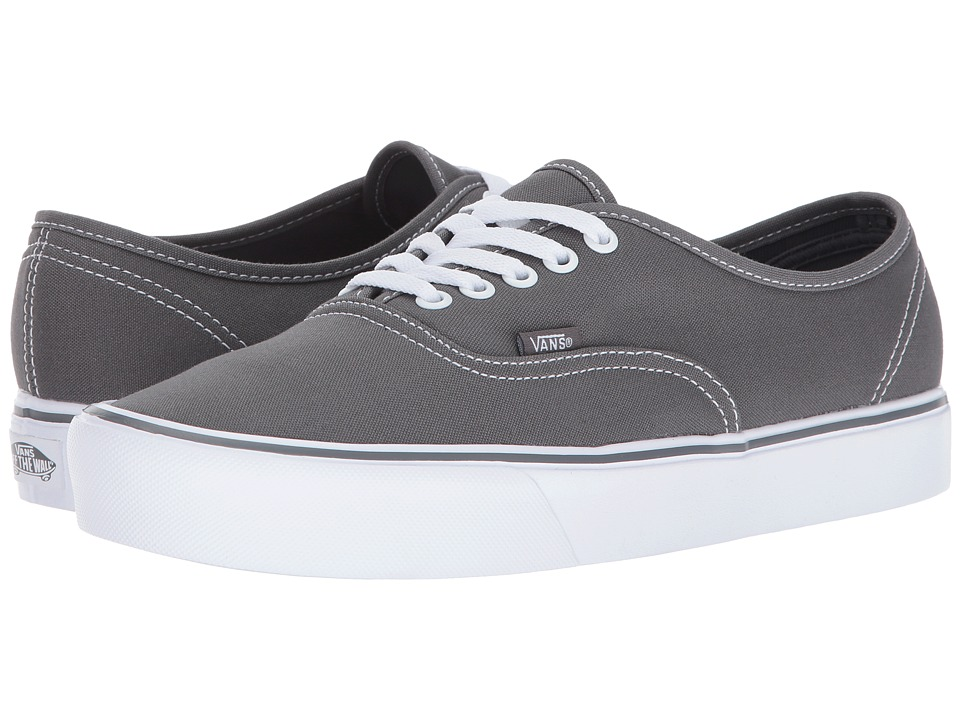 Vans Authentic Lite ((Canvas) Pewter) Skate Shoes