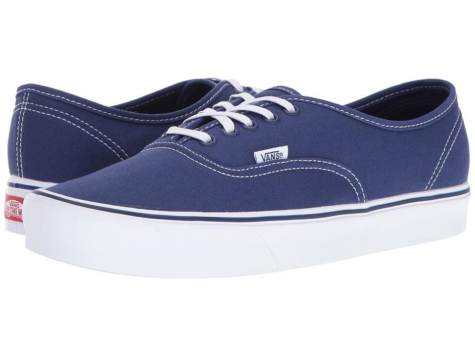 Vans Authentic Lite ((Canvas) Blue Depths) Skate Shoes