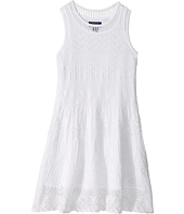 Polo Ralph Lauren Kids - Combed Cotton Pointelle Dress (Little Kids)