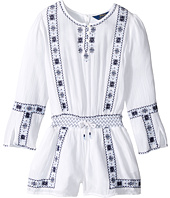 Polo Ralph Lauren Kids - Embroidered Romper (Little Kids)
