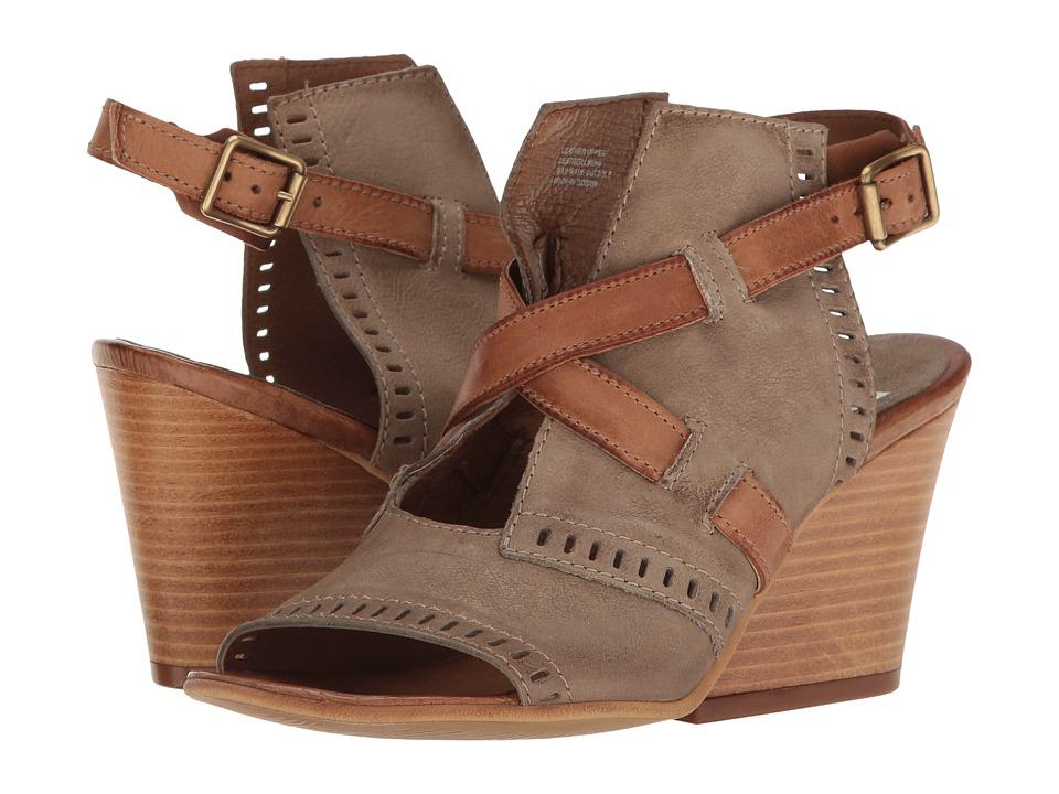 Miz Mooz Kipling (Stone) Women's Wedge Shoes