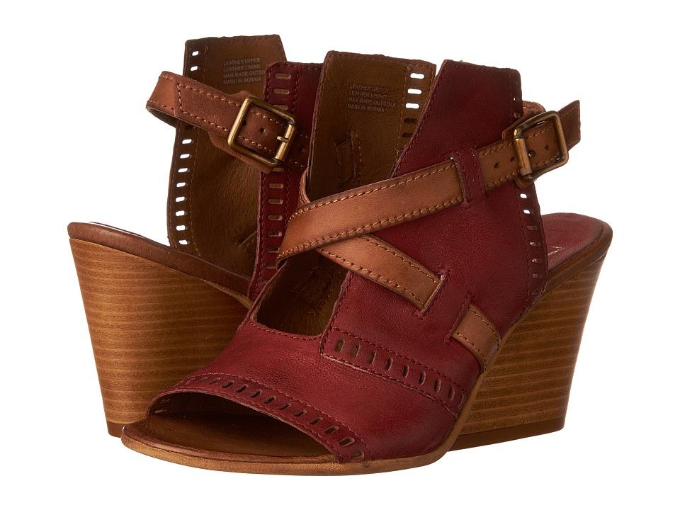 Miz Mooz Kipling (Currant) Women's Wedge Shoes