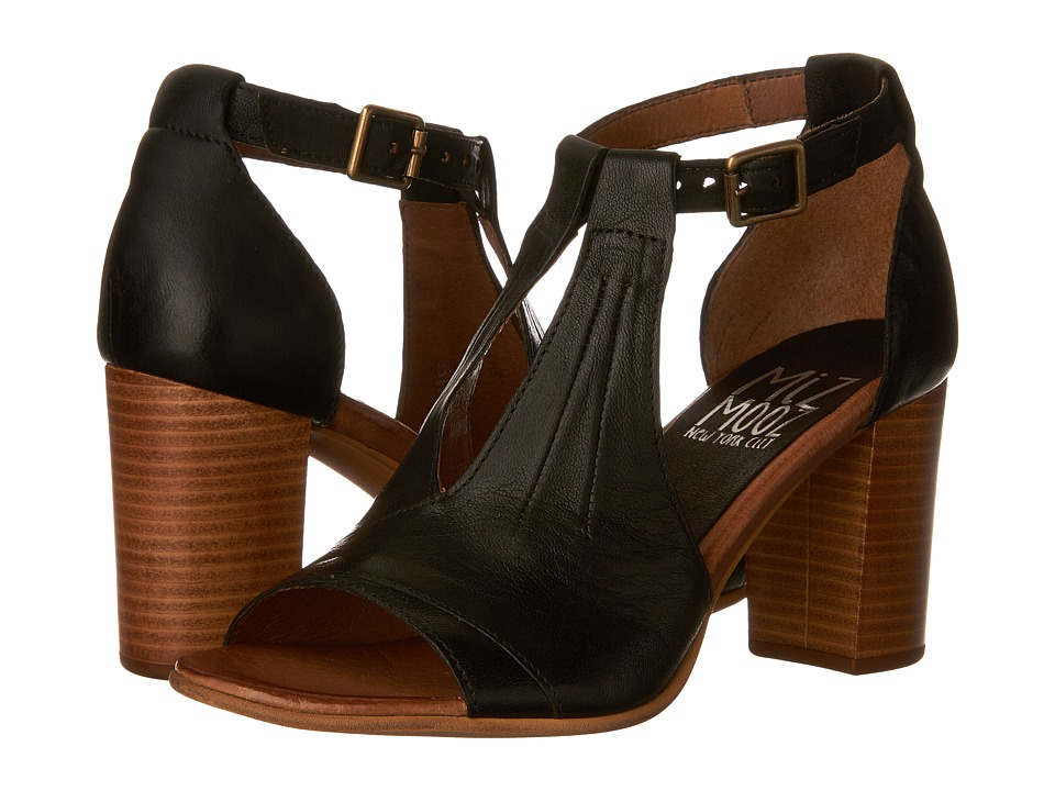 Miz Mooz Savannah (Black) High Heels