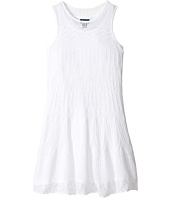 Polo Ralph Lauren Kids - Combed Cotton Pointelle Dress (Little Kids/Big Kids)