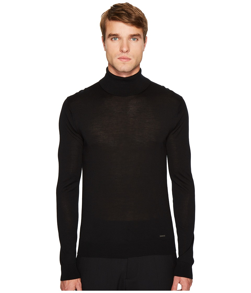 DSQUARED2 - Classic Turtleneck (Black) Mens Sweater